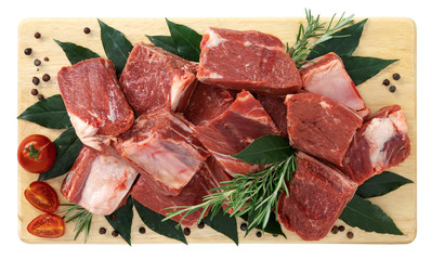 Spezzatino di carne di cavallo con osso - Stewed horse meat
