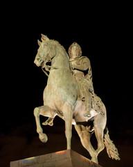Louis XIV statue at Place Bellecour, Lyon