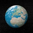 Europe on earth - 3D render