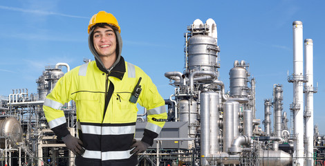 Confident petrochemical engineer