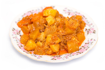 potato stew with tomatoes