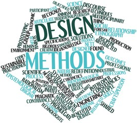 Word cloud for Design methods