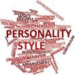 Постер, плакат: Word cloud for Personality style