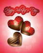 Valentine's Chocolate Hearts