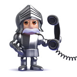 Knight answers the phone for you