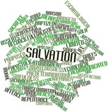 Word cloud for Salvation poster