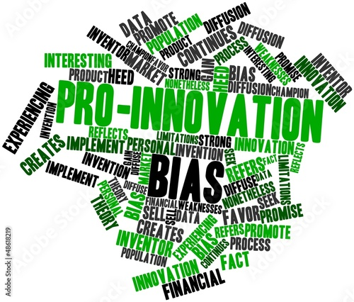 Word cloud for Pro-innovation bias