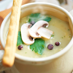 Soup - Pilzsuppe