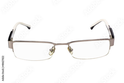 Close-up of eyeglasses