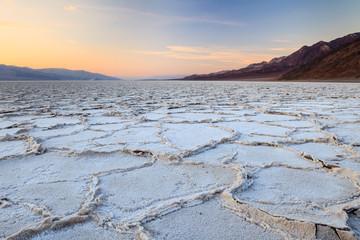 Tramonto a Badwater, Valle della Morte