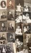 old family photos. nostalgic vintage pictures