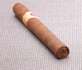 hand-rolled cigar