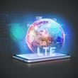 LTE Tablet PC konzept botnet