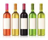 Fototapety Wine bottles