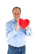 Mann mit Herz