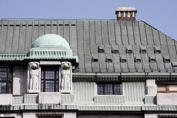 Budapest - palazzo liberty - decorazioni