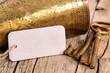 Brass breaker, keys and blank label