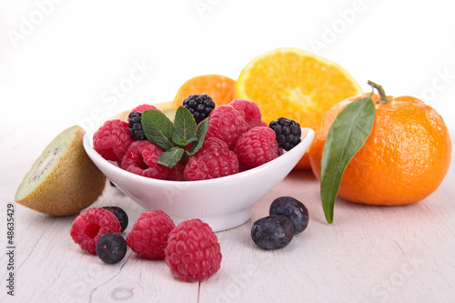 assortment of fruits
