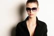 Sexy Model mit Sonnenbrille