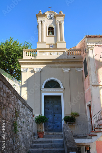 Foto op Plexiglas Kiev Church of St. Maria di Porto Salvo. Maratea. Basilicata. Italy.