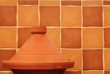 Plain Clay Moroccan Tagine