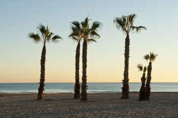 Sunrise at San Juan beach, Alicante