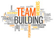 "Word Cloud ""Team Building"""