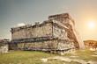 Tulum Castle Mayan Ruins in Quintana Roo