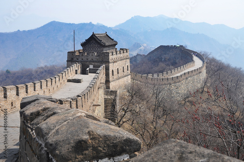 Chinesische Mauer, Peking, Greatwall, China © rendermax