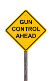 Caution - Gun Control Ahead poster