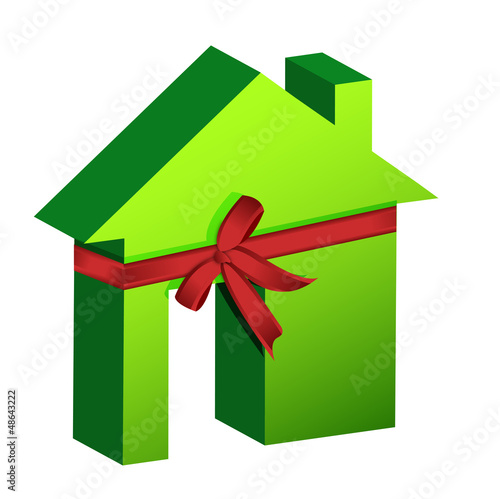 Real estate concept ribbon