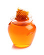 Honey with honeycomb