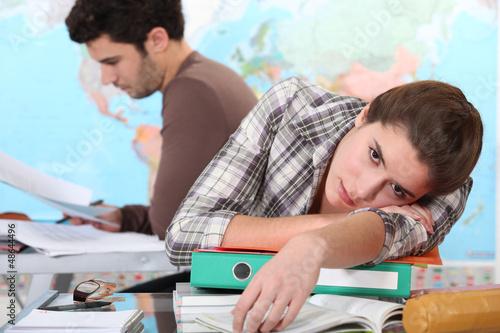 Student boring