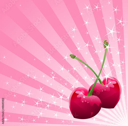 Love Cherry background