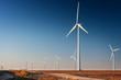 Tall Wind Turbine in  West Texas - 48646410