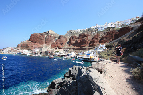 Grèce - Santorin (Port d'Amoudi)