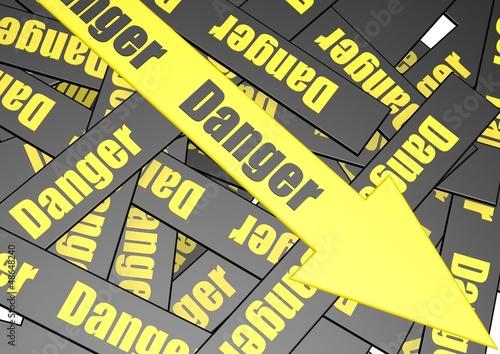 Danger banner