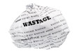 wastage is also a loss of