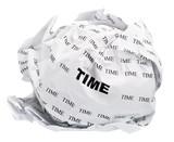 crumpled time