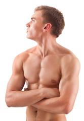 Aryan - looking young bodybuilder