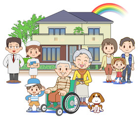 Home medical care - Outdoors