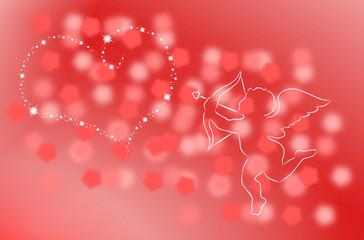 serce i kupidyn