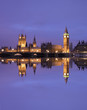 Westminster Palace, reflected on River Thames
