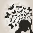 Butterflies from a head3