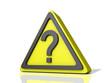 Question Mark Caution Icon