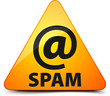 Spam! Hazard sign