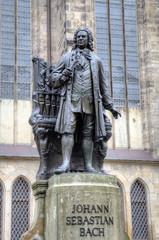 Monument for Johann Sebastian Bach. Leipzig, Germany