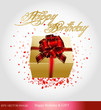 eps Vector image: Happy Birthday & GIFT