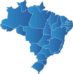 Brasilien Karte Bundesstaaten