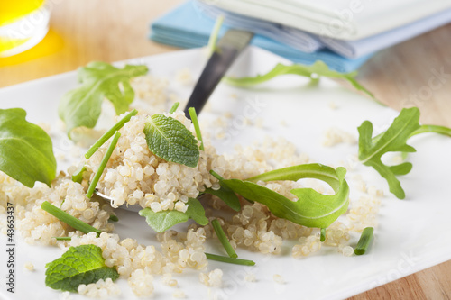 Quinoa with Herbs